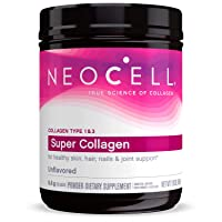 NeoCell Super Collagen Powder – 6,600mg Collagen Types 1 & 3 - Unflavored - 19 Ounce