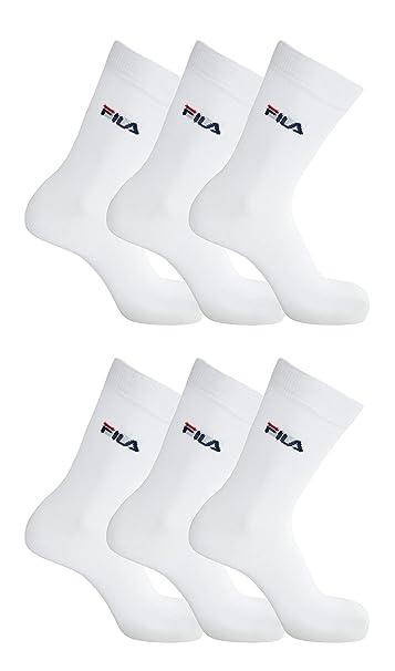 Fila 6 pares de calcetines calcetines calcetines unisex Streetsport 35-46 - colores múltiples: Colour: White | Size: 43-46: Amazon.es: Ropa y accesorios
