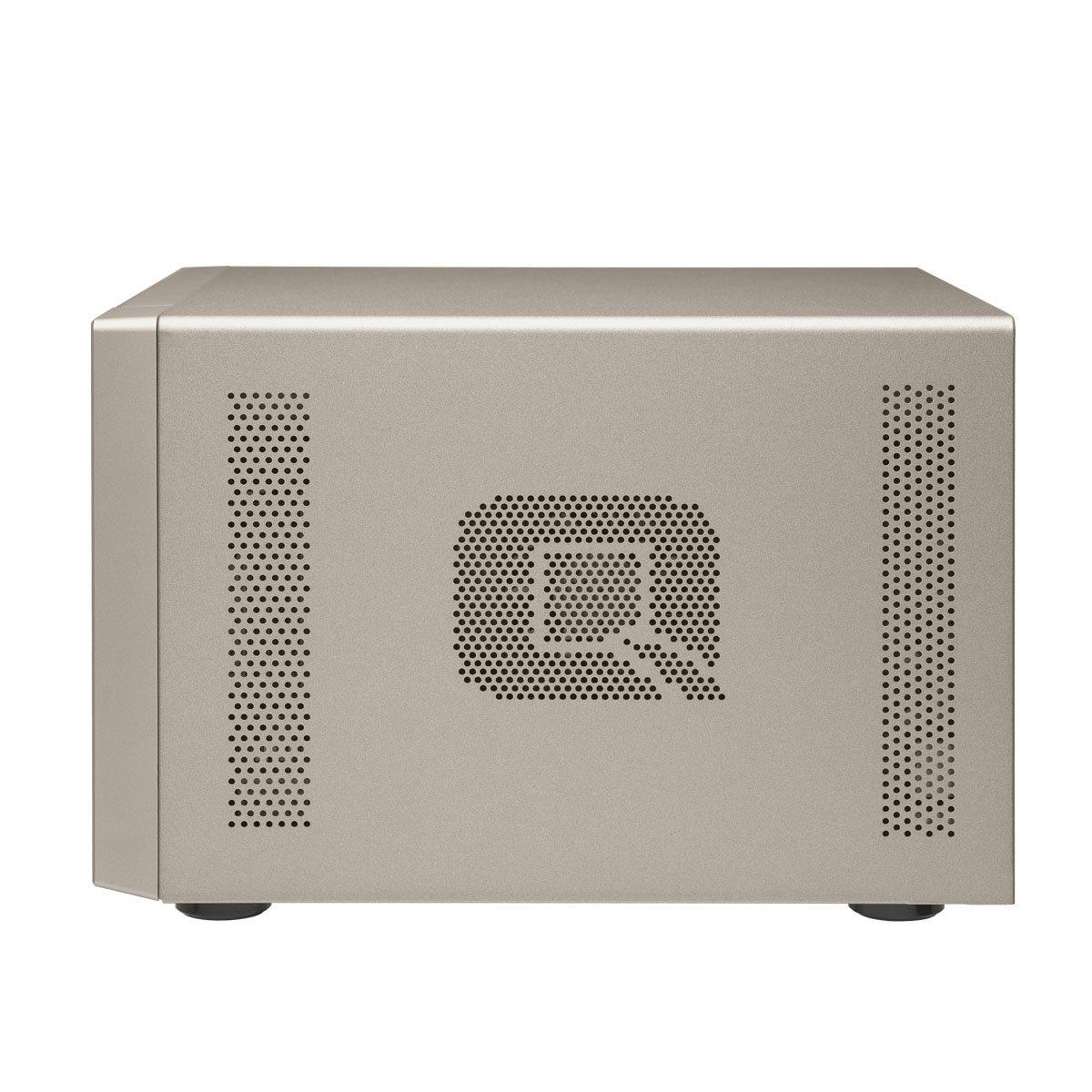 Qnap TVS-473-8G-US 4-bay NAS/iSCSI IP-SAN, AMD R series Quad-core 2.1GHz, 8GB RAM, 10G-ready by QNAP (Image #3)