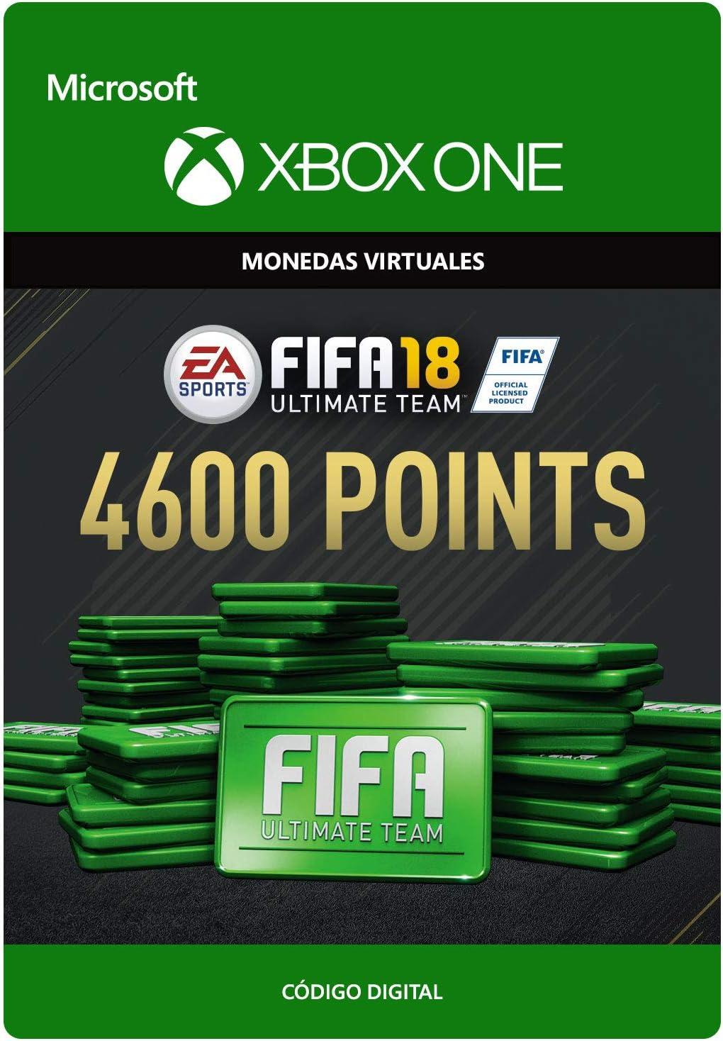 FIFA 18: Ultimate Team FIFA Points 4600 | Xbox One - Código de descarga: Amazon.es: Videojuegos