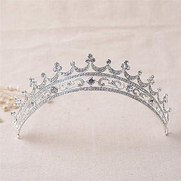 Amazon Com Fumud Rhinestone Bridal Tiara Crown Hair Accessories