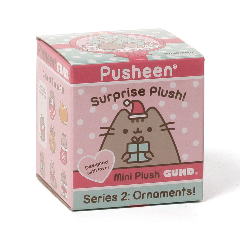 """Gund Pusheen Blind Box Series #2 Surprise Plush 2.75"""" 4"""