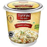 TIFFIN-TO-GO Roasted Semolina and Sauted Vegetables Rava Upma, 76 g