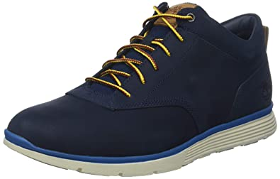 Timberland Killington Half CAB Trainers Men Blue (Black Iris Nubuck ... edadcb06530
