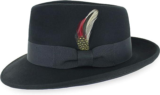 Top Hat High Quality Navy Black Brown Burgundy Olive White Purple 100/% Wool Felt