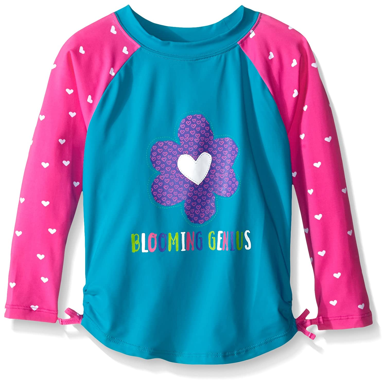 Hatley Girls' Hearts Rash Guard Hatley Children' s Apparel BS3GAFL099-400