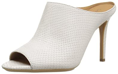 Calvin Klein Womens Nola Closed Toe Special Occasion Mule Platino Size 95