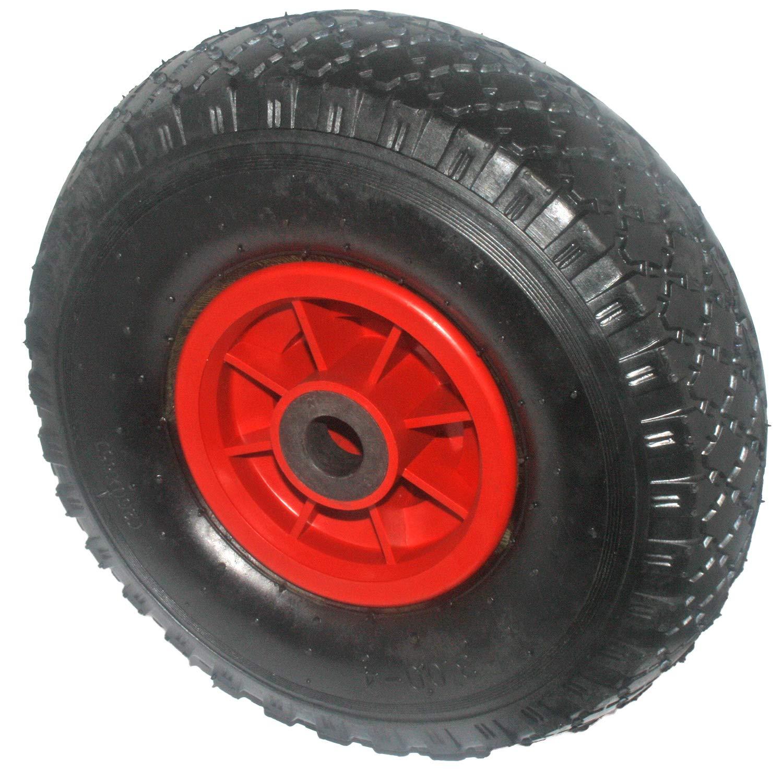 Artikel 20293 Gummirad 3.00 Gleitlager Kunststofffelge m /ø=260mm Hersteller HKB 1 X Sackkarrenrad Tragkraft 130kg 4