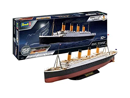 Revell 05498 RMS Titanic, Multi Colour