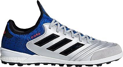 c72246ea4 Amazon.com: adidas Men's Copa Tango 18.1 TF Soccer Cleats (Silver ...