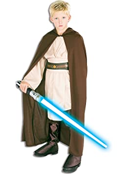Childrens Jedi Robe Fancy Dress Costume - Large Size (disfraz)