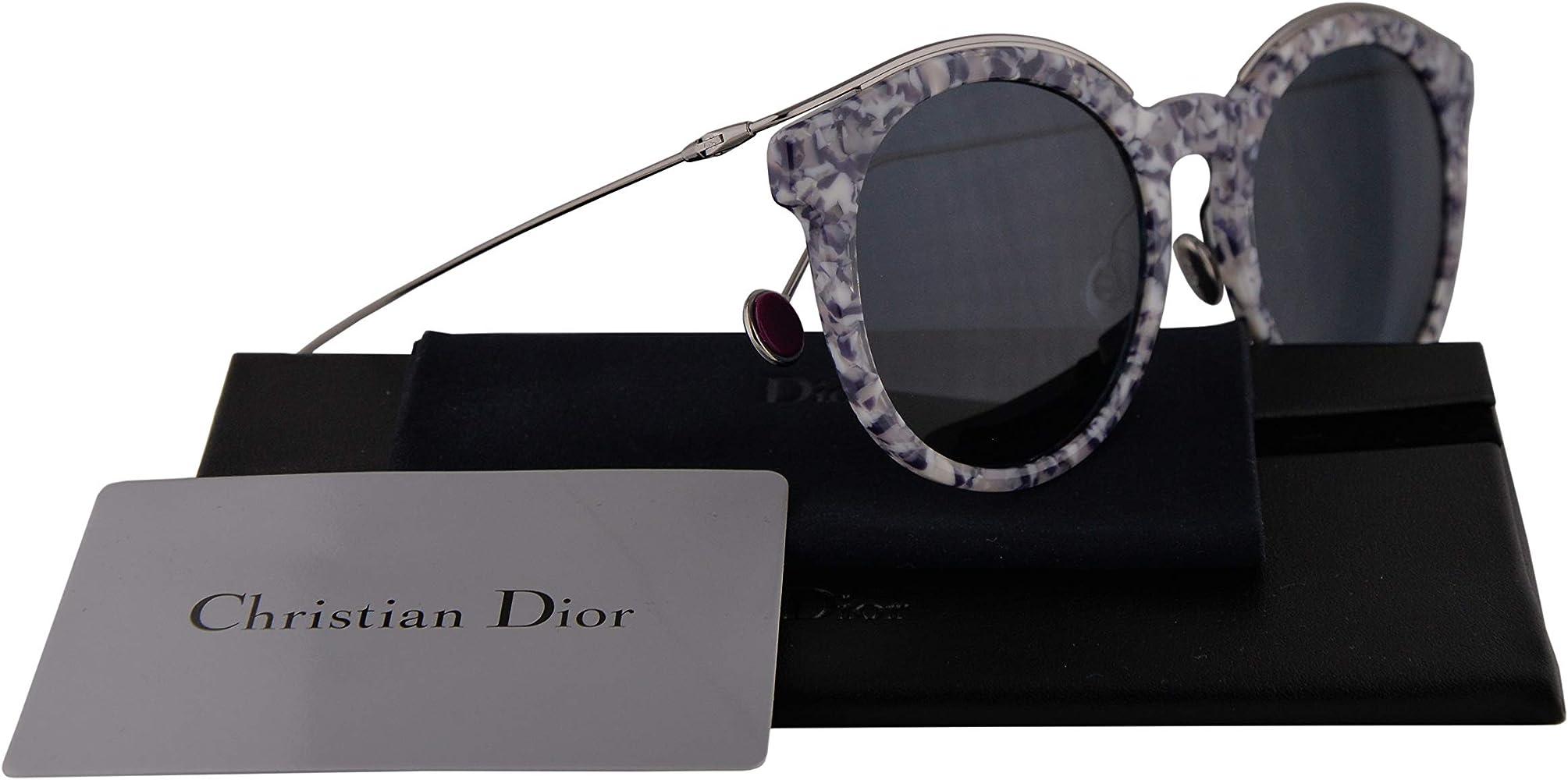 Christian Dior DiorBlossom Gafas de Sol Violeta con Lentes Azul 52mm GKRKU DiorBlossom/S Diorblossom Dior Blossom: Amazon.es: Ropa y accesorios