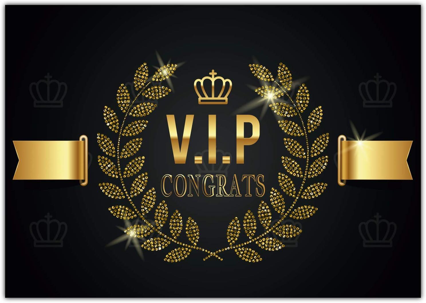 A4 Xxl Greetings Card V I P Weitenwerk Congrats With Envelope Elegant Vip Folding Card For All Occasions Such As Birthday Wedding Anniversary Card Bürobedarf Schreibwaren