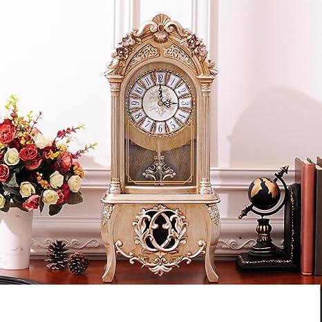 Relojes europeos/ relojes/Silencioso salón decoración del reloj/ reloj retro/ Reloj chino