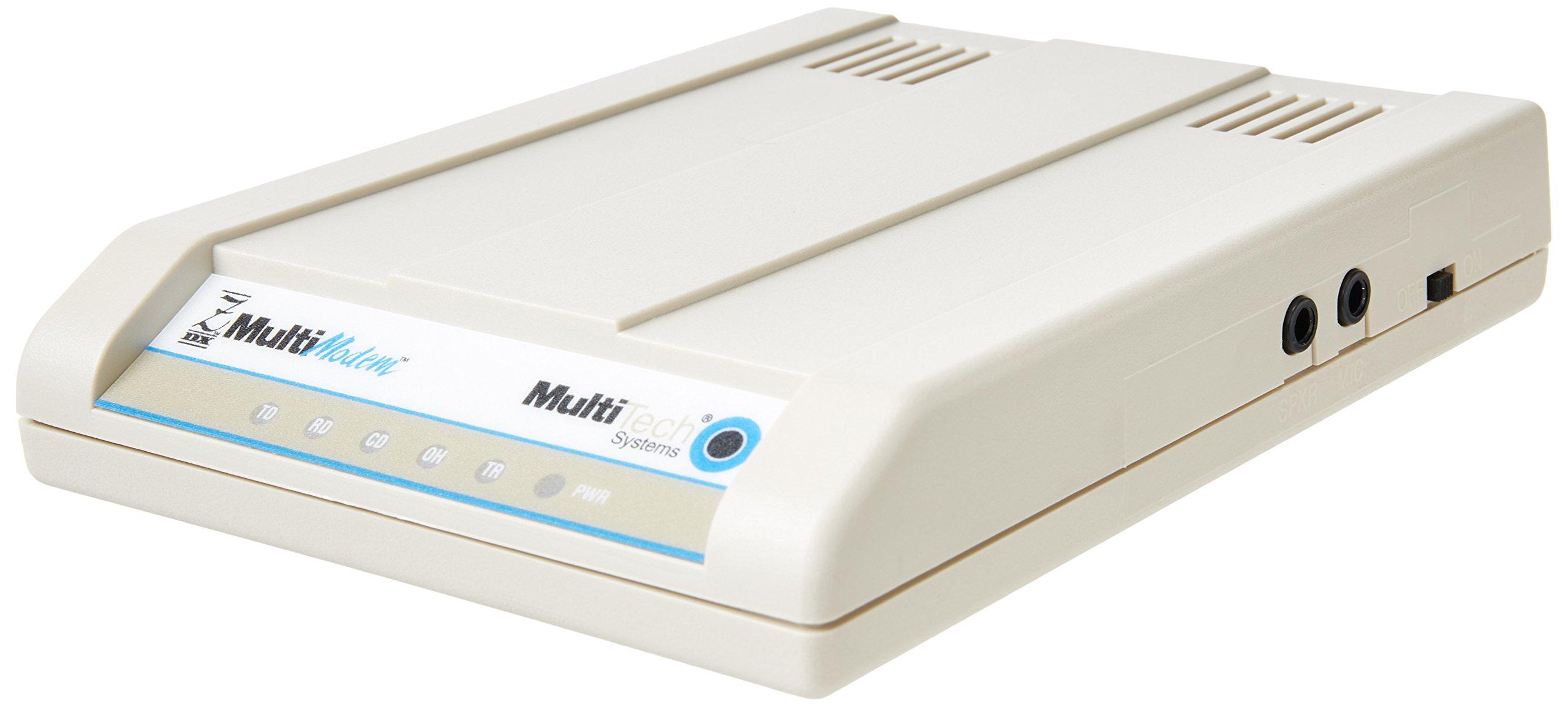 Multi-Tech Systems MT5656ZDX-V 56Kbps External Modem