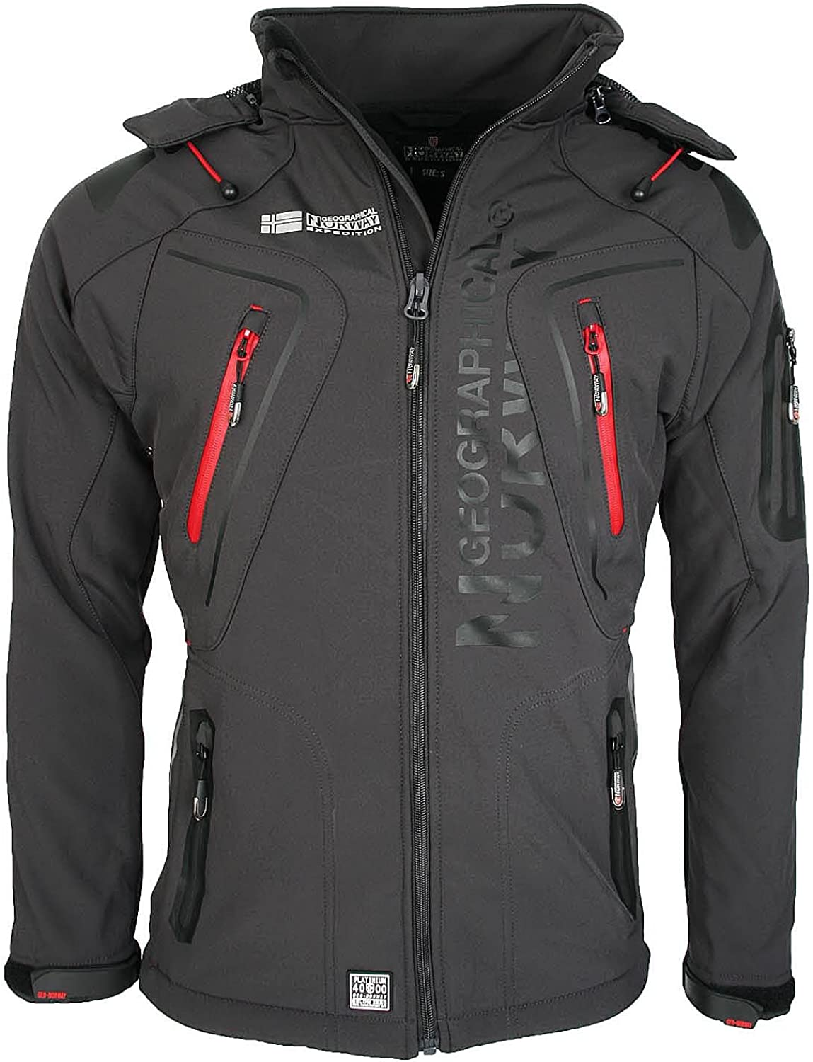 Geographical Norway Tambour - Chaqueta Softshell para Hombre. Hombre