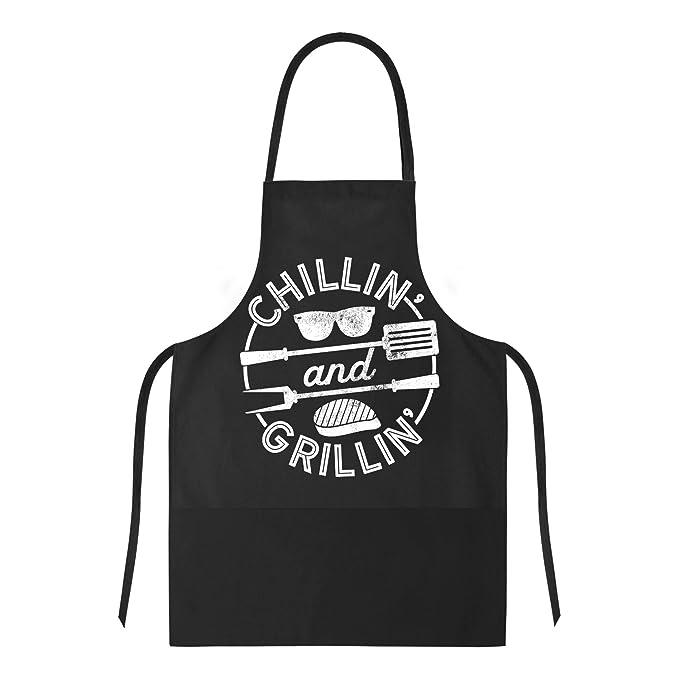 Amazon.com: Delantal de cocina para chillín y parrilla ...
