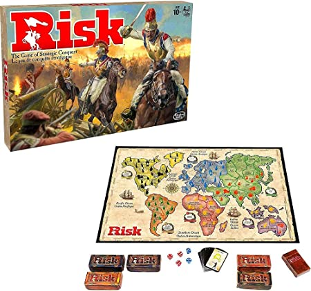 XQXC Cluedo Clásico Juego De Mesa, Juego De Razonamiento y Resolución para 2-6 Personas, Juegos De Guerra Antiguos, Juego De Mesa Misterioso (Risk): Amazon.es: Hogar