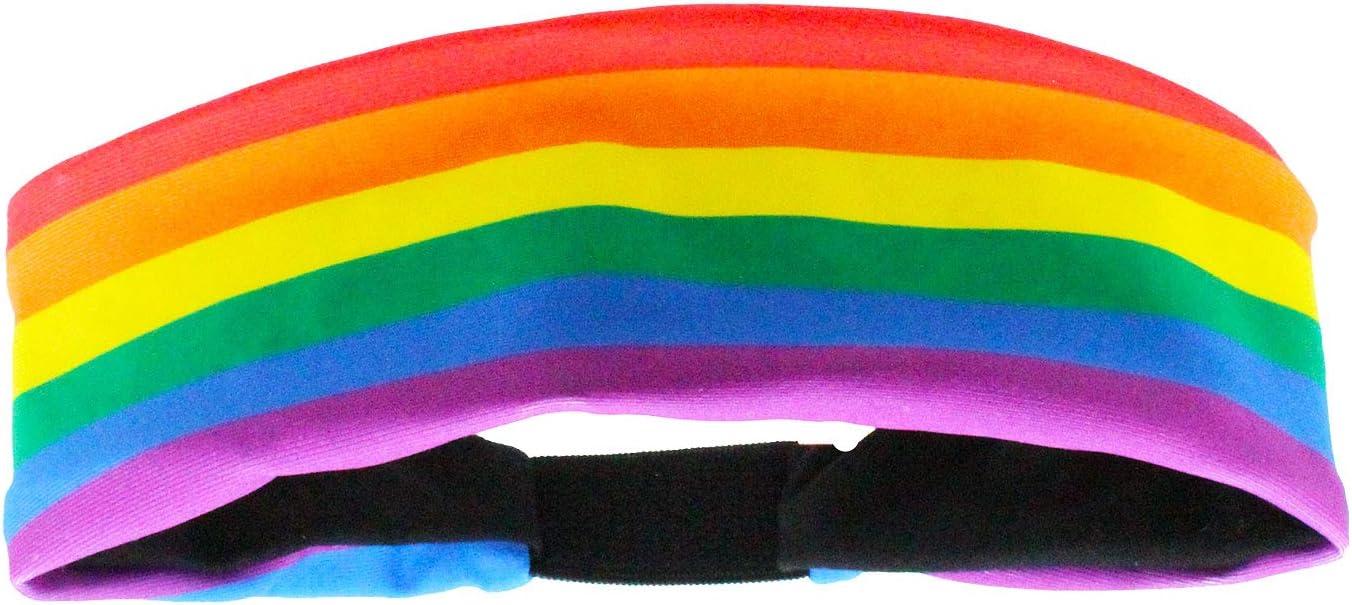MadSportsStuff Regenbogen-Stirnband