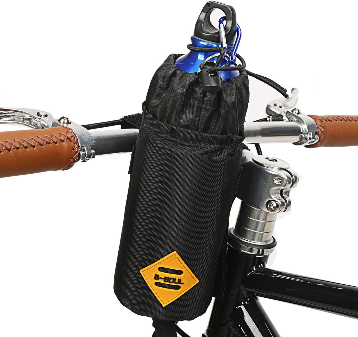 Suruid Bike Water Bottle Holder Insulated Bike Carrier Bag