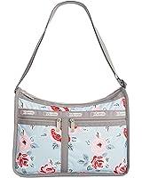 LeSportsac Deluxe Everyday Handbag (Garden Sky Rose)
