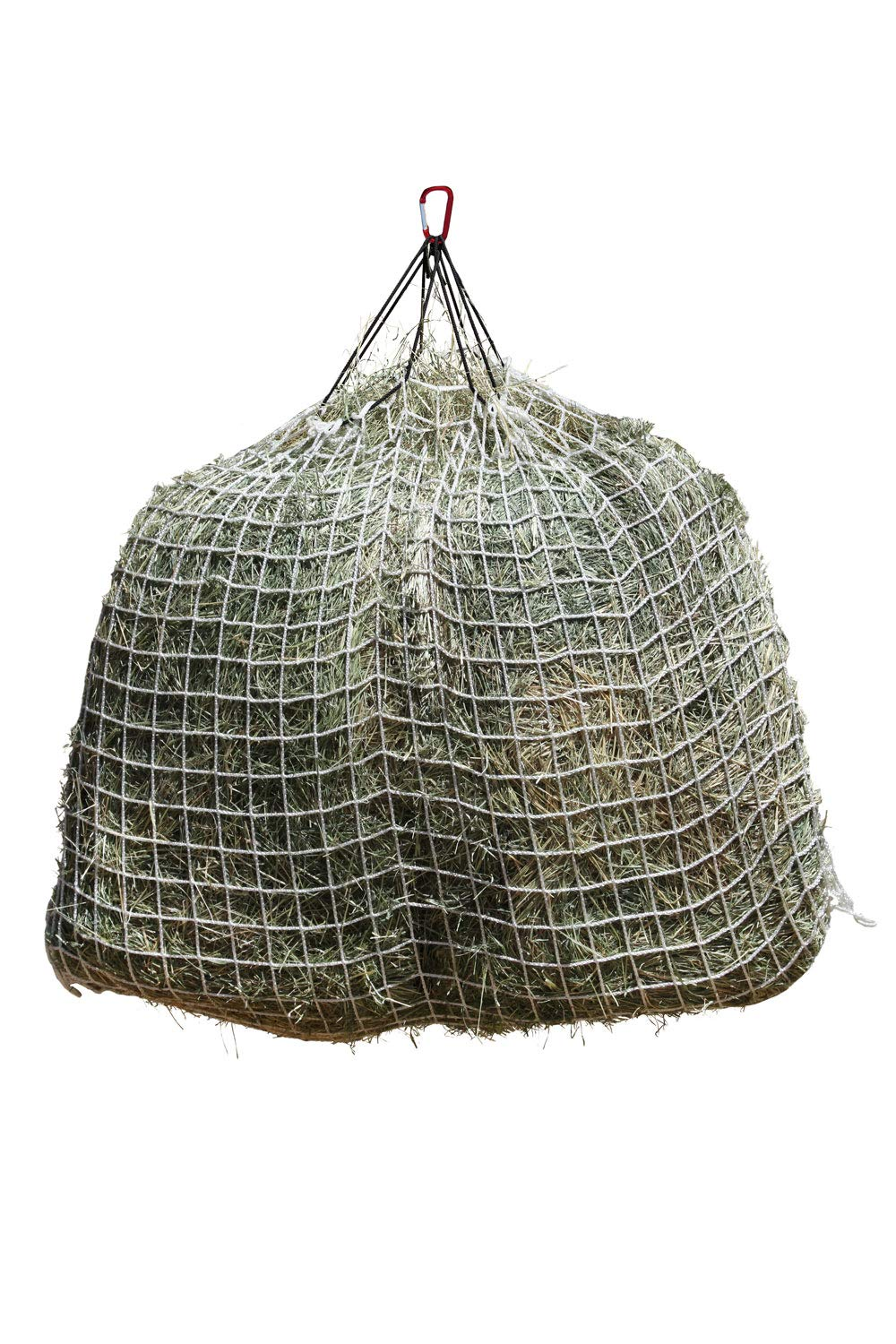 Freedom Feeder Mesh Net Full Day Slow Horse Feeder - Designed to Hold 30 lbs/4 Flakes of Hay and Feed Horse All Day - Reduces Horse Feeding Anxiety and Behavioral Issues by Freedom Feeder FF