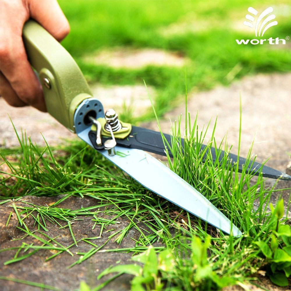 Worth Swivel Grass Shear Garden Lawn Border Edge Trimming Tool Power-LeverDesign