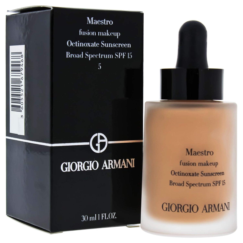 Giorgio Armani Maestro Fusion Makeup SPF 15 Foundation, No. 5 Light/Rosy, 1 Ounce