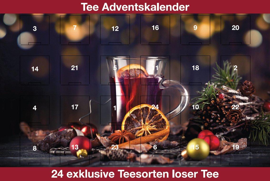 Grüner Tee Adventskalender 2018