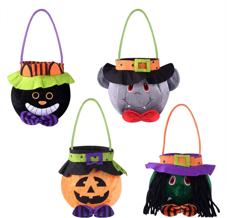 Trick or Treat Bags Kids Halloween Trick or Treat BLACK Bags