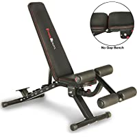 Fitness Reality 2000 Super Max XL High Capacity NO Gap Weight Bench with Detachable Leg Lock-Down