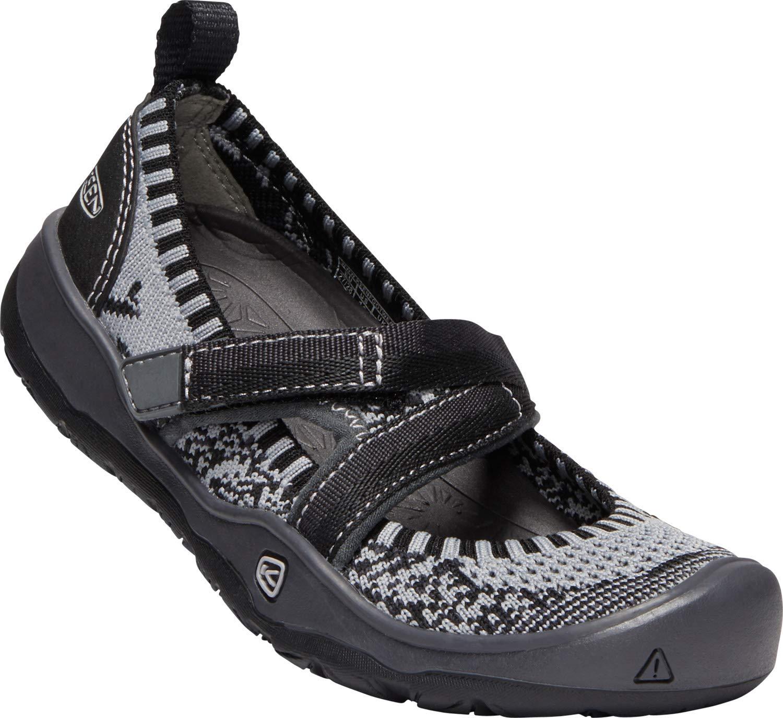 Keen - Kids Moxie Sport Mary Jane Shoes, Black/Magnet, 1 M US Little Kid