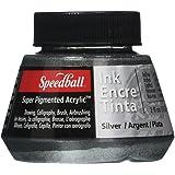 Speedball Art produits silver-super d'encre acrylique, acrylique, multicolore