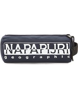 Napapijri - Estuche North Cape SLG, ideal como estuche portalápices, portacosméticos, etc.: MainApps: Amazon.es: Oficina y papelería