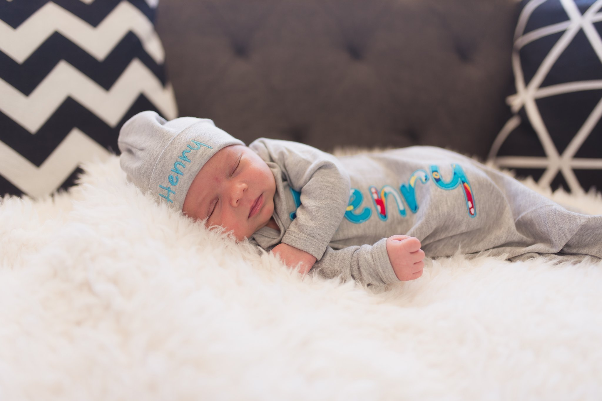 Baby Boy Turquoise Plane Personalized Coming Home outfit