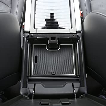 Aufbewahrungsbox Für Armlehne Kunststoff Organizer Für Mobiltelefon Mit Anti Rutsch Matte Zubehör Für Range Rover Evoque Auto