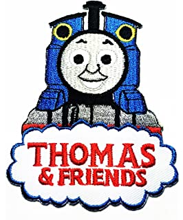 Train Thomas Friends Logo Patch Jacket T Shirt Sew Iron On Badge Embroidery