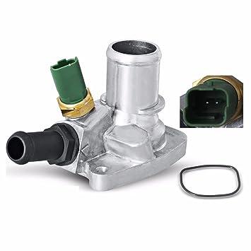 U-ESSENTIALS termostato del refrigerante del motor con vivienda + Sensor + Junta 9s518575aa,