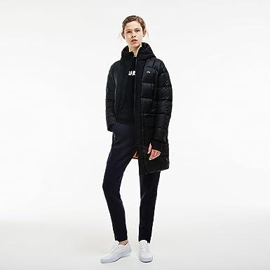 Lacoste Manteau Femme Noir X Large Amazon Fr Vetements Et
