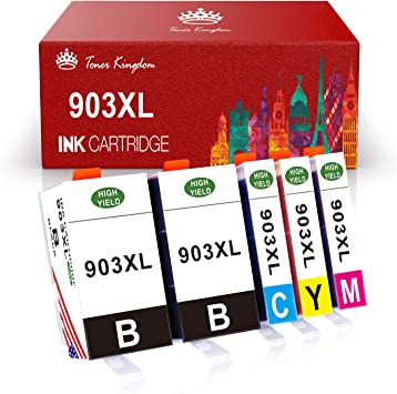 Toner Kingdom Cartuchos de Tinta HP 903 903L 903XL compatibles con ...