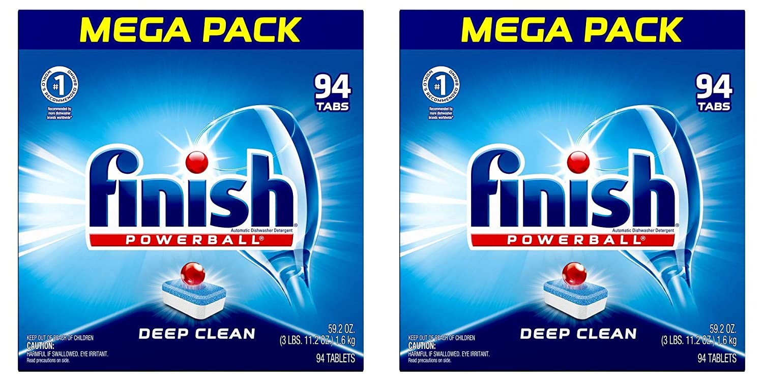 Amazon.com: Finish – todo en 1 – 94 ct – detergente para ...