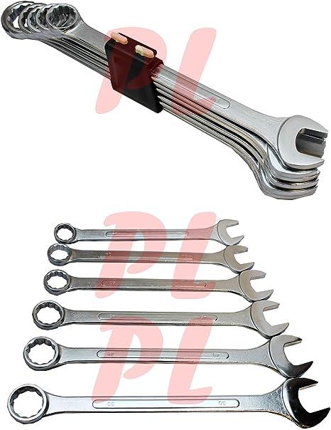 6 Piece Metric Jumbo Combination Wrench Set