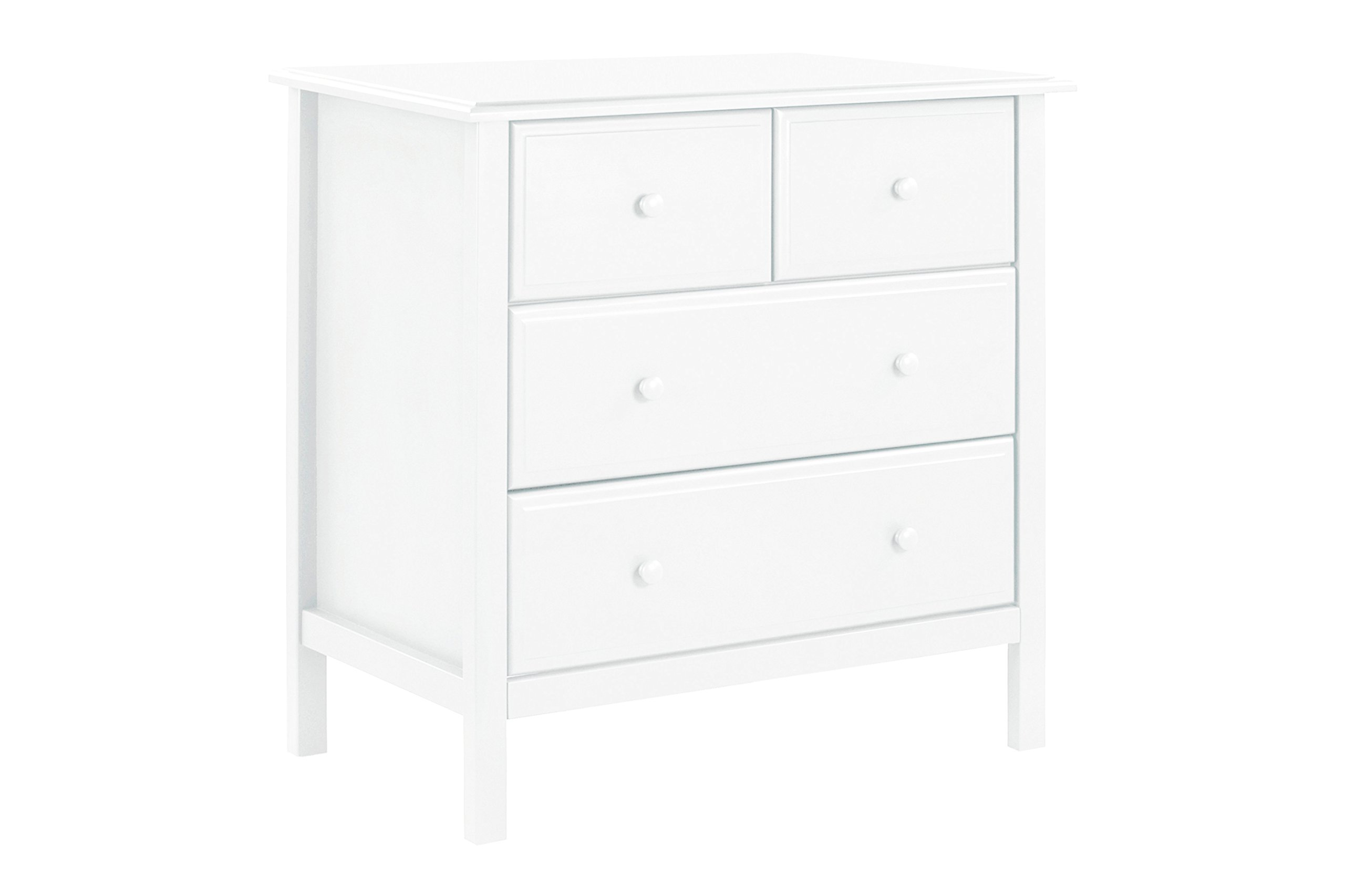 DaVinci Autumn 4-Drawer Changer Dresser with Removable Changing Tray, White