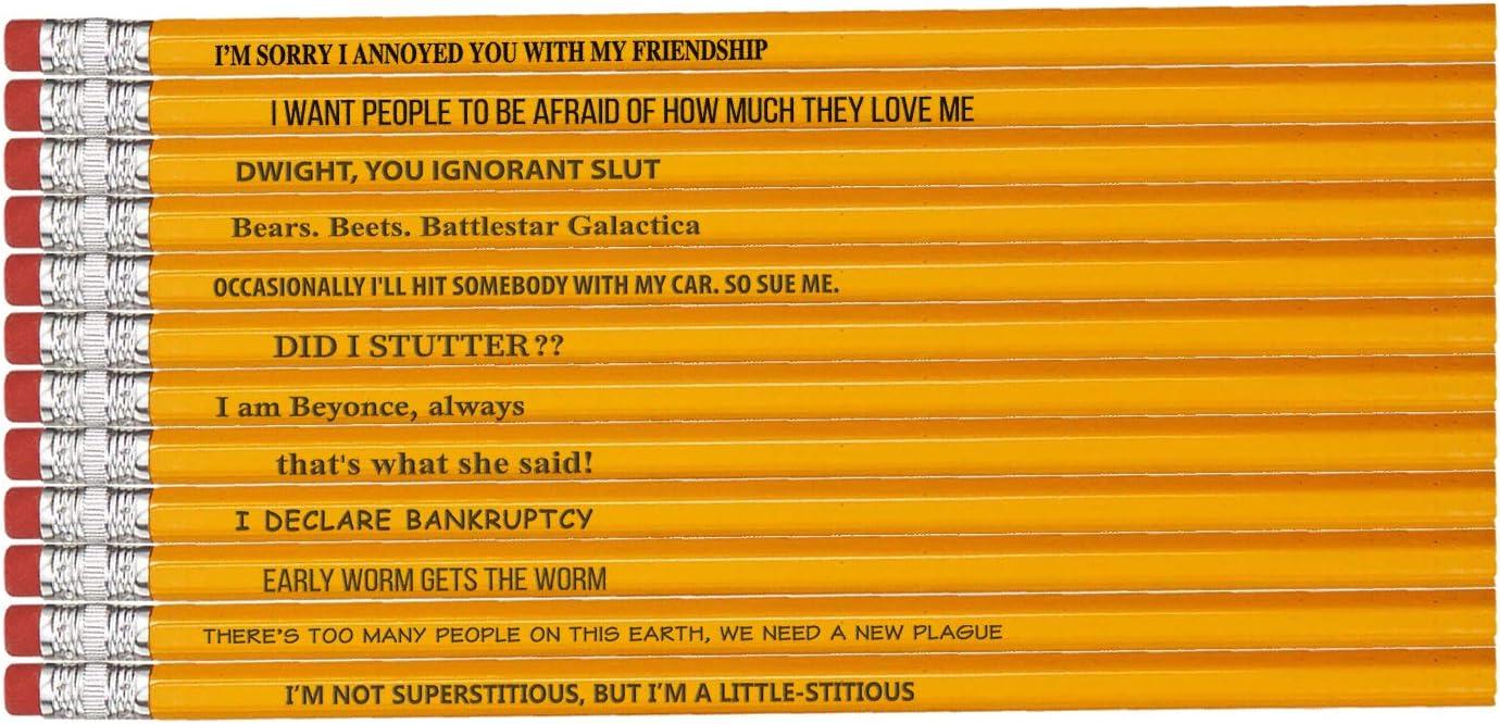 Office Pencils: 12 'The Office' TV Parody