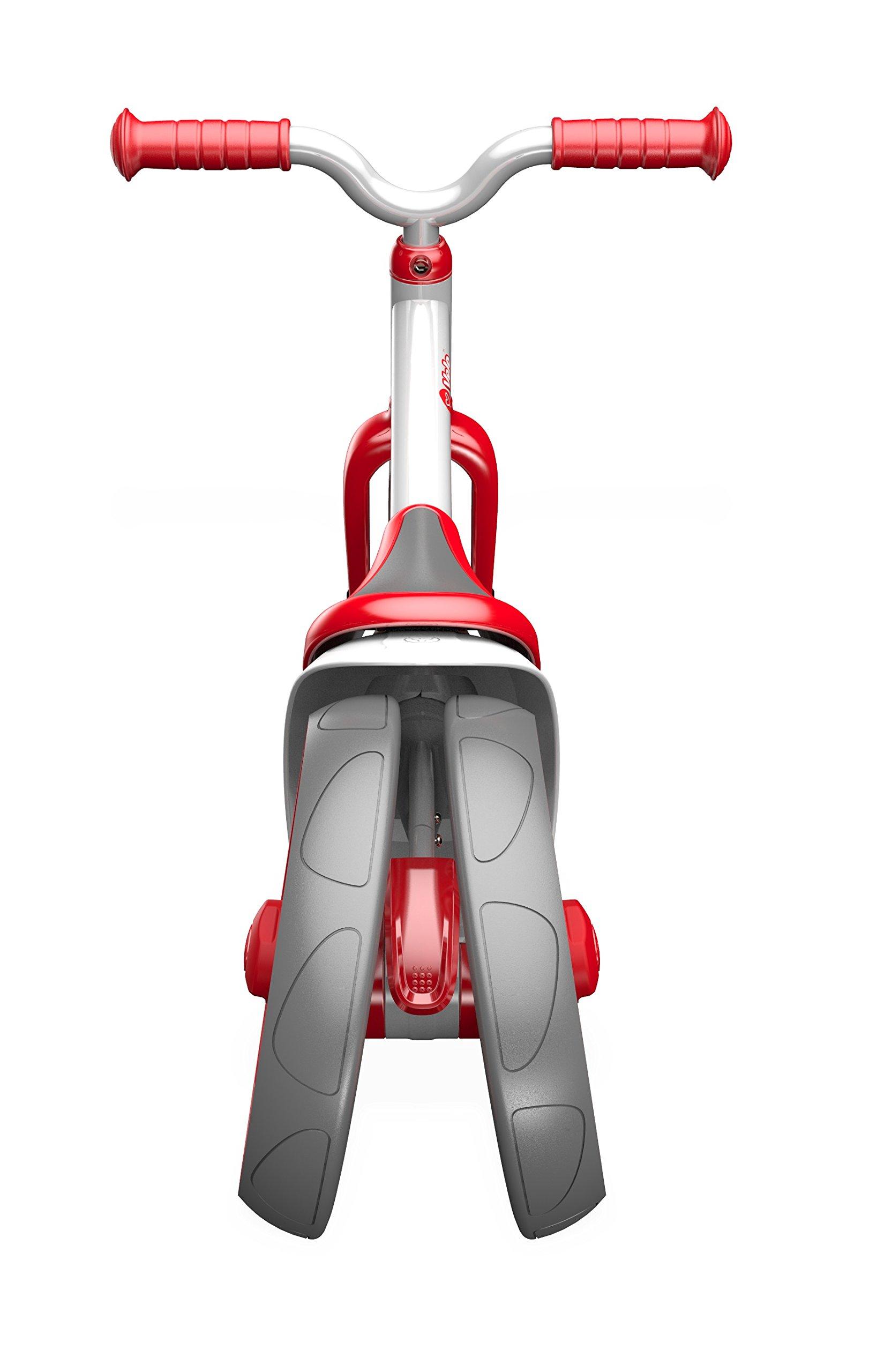 Yvolution Y Velo Twista Balance Bike, Red, One Size