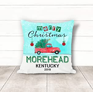 Amazon.com: Christmas Pillow Covers 18 x 18 Inches Merry