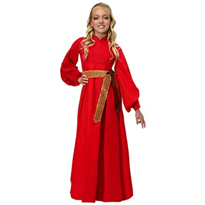 Girls Buttercup Peasant Dress Costume: Clothing