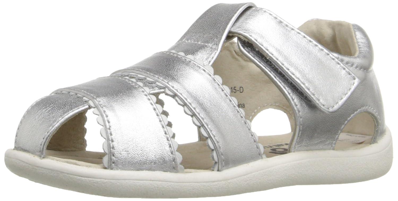 See Kai Run Gloria II Sandal K ,White,9 Toddler Silver 7 M US Toddler GLORIA II Toddler