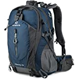 FENGDONG 40L Waterproof Lightweight Hiking,Camping,Travel Backpack for Men Women