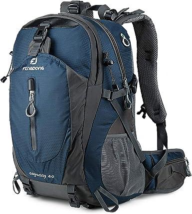 Travel Hiking Backpack Waterproof Outdoor Sport Camping Daypack Rucksack Bag 40L